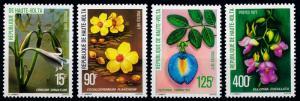 [67466] Burkina Faso Upper Volta 1977 Flora Flowers Blumen  MNH