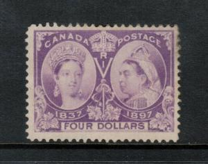 Canada #64 Fine - Very Fine Mint Unused (No Gum) Light Gum Marks At Upper Right