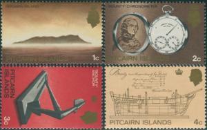 Pitcairn Islands 1969 SG94-97 Island Watch Anchor Bounty MNH