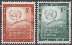 United Nations #55-6   MNH  (K1422)