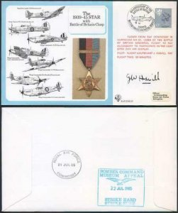 DM10a The 1939 to 1945 Star with Battle of Britain Clasp Signed by Hamill (S)