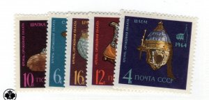 Russia Soviet Union #2987-2991 MNH - Stamp - CAT VALUE $3.75