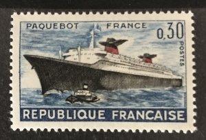 France 1962 #1018, MNH, CV $.60