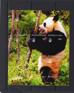 Niger 1999 GIANT PANDA s/s Imperforated Mint (NH)