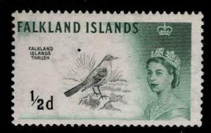 Falkland  Islandss Scott 128 MH*