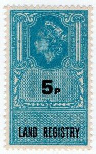 (I.B) Elizabeth II Revenue : Land Registry 5p
