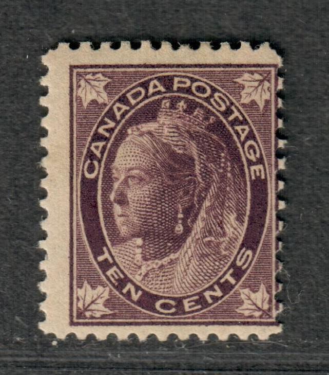 Canada Sc#73 M/LH/F, Cv. $600