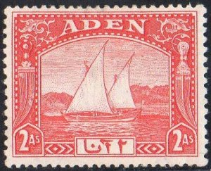 Aden 19372a scarlet (Dhow) MH