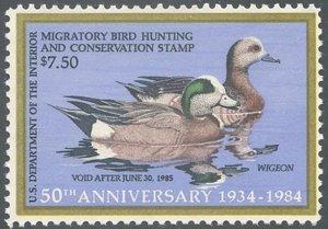US Scott #RW51 Mint, F, NH