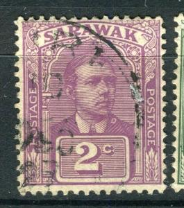 SARAWAK; 1918 early C. Brooke issue fine used 2c. value