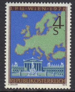 Austria 1978  MNH European security   complete