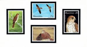 Mauritius 583-86 MNH 1984 Birds