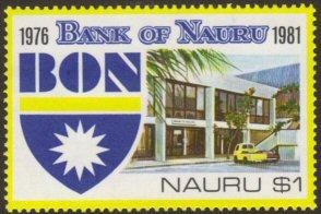 Nauru #231 MNH Bank of Nauru