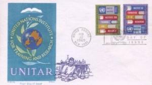 UN #192/193 UNITAR - Overseas Mailer