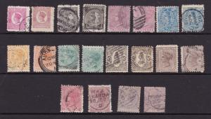 New Zealand small lot of later QV used