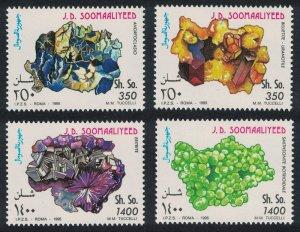 Somali MNH MI 555-8 colorful Minerals Sciences 1995
