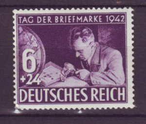 J21697 Jlstamps 1942 germany set of 1 mh #b201 stamp collector
