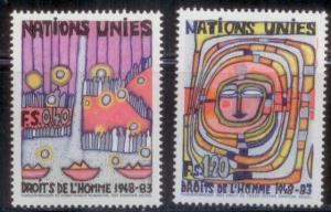 United Nations Geneva Office 1983 SC# 119-20 MNH-OG L384