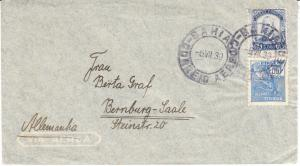 Brazil Cover to Germany 1939  w/ Sc.#459