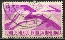 Mexico; 1956: Sc. # E16; O/Used Single Stamp