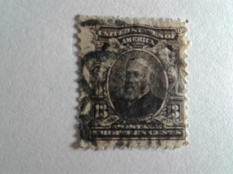 SCOTT # 308 USED NICE STAMP