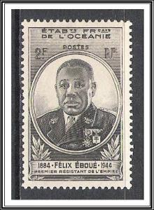 French Polynesia #150 Eboue Issue MH