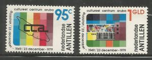 CURACAO,446-447, MNH, FOUNDATION HEADQUATERS