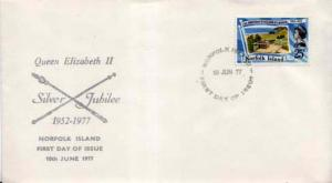 Norfolk Islands, First Day Cover, Royalty