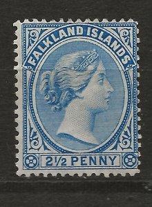 Falkland Is 15 SG 30 MH F/VF 1894 SCV $50.00 (jr)