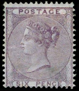 SG70, 6d pale lilac, M MINT. Cat £1350.