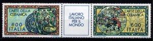Italy 1985 Italian Work for the World, Ceramics Set [Mint]