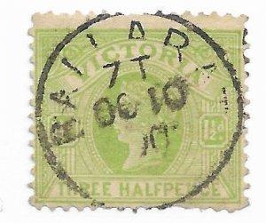 Victoria #179 Used Perfs - Stamp - CAT VALUE $6.50