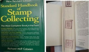 A) STANDARD STAMP COLLECTION MANUAL, NEW REVISED EDITION, MORE COMPLETE BOOK AND