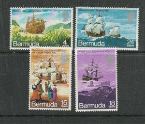Bermuda 1971 Deliverance ( Ships ) UM/MNH SG 275/8