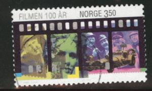 Norway Scott 1134 used cinema stamp