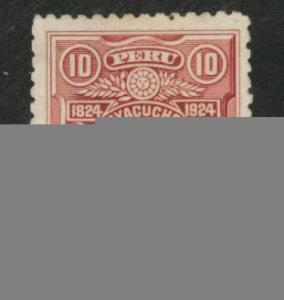 Peru  Scott 237 used 1924 stamp