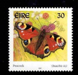 Ireland Scott 1262 MNH** 2000 Butterfly stamp