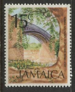 Jamaica - Scott 352 - QEII Definitive -1972 - MNH - Single 15c Stamp