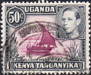 Kenya, Uganda, Tanganyika #79a  Used