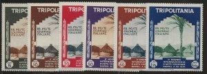 Tripolitania 73-78 Set MH