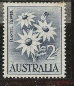 Australia  Scott 327 MNH**  2sh Flannel Flower stamp