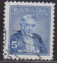 Canada 358 Sir Charles Tupper 5¢ 1955