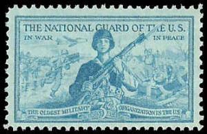 PCBstamps   US #1017 National Guard, MNH, (PCB-28)