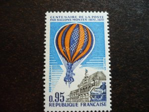 France - Centenary of First balloon mail from Paris