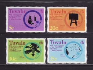 Tuvalu 46-49 Set MNH South Pacific Commission (B)