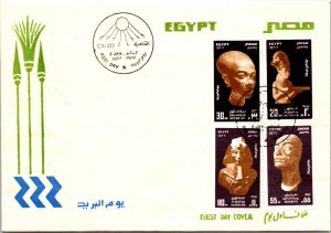 Egypt, Worldwide First Day Cover