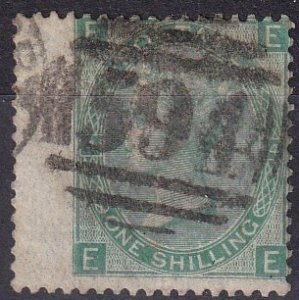 Great Britain #54 Plate 4 F-VF Used CV $40.00 (Z2920)