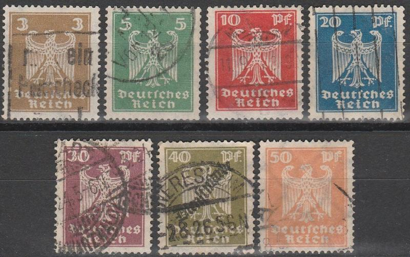 Germany #330-6  F-VF Used CV $3.70 (C6786)