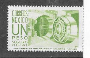 Mexico #G22 1peso  (MNH) CV $2.00
