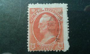 US #O22 used e1912.5761
